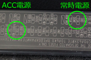 C-HRヒューズBOX拡大