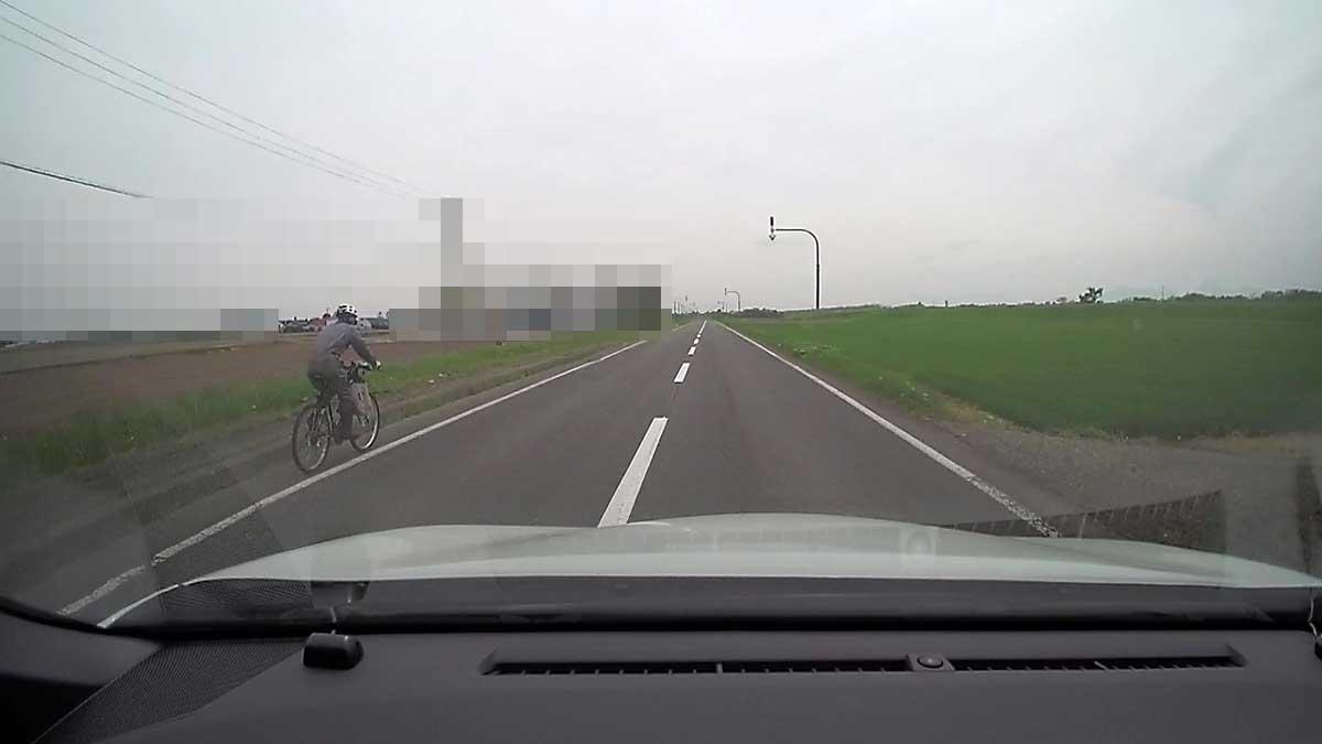 自転車にもレーダークルーズコントロールは有効でした。