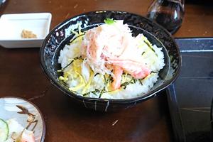 紋別漁師食堂・ズワイガニ丼