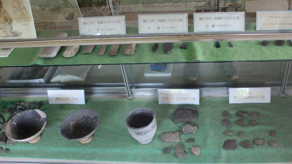 オムサロ遺跡公園・資料館・展示品
