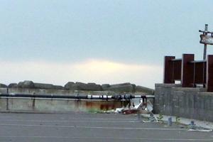 ノシャップ岬の夕陽?