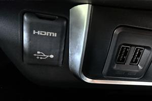 iPod対応USB/HDMI入力端子