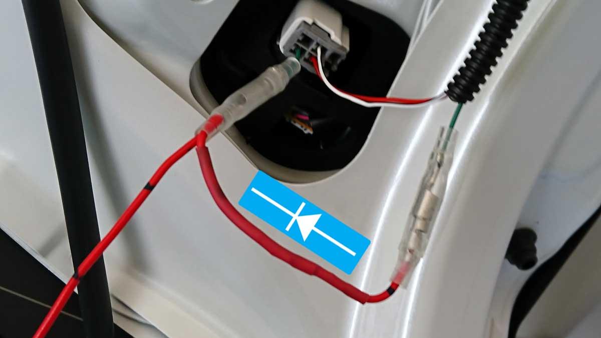 ブレーキ逆流防止回路