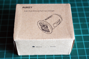 AUKEY USB充電器外箱