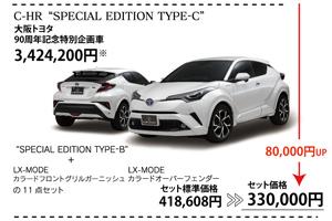 C-HRオリジナル企画車TYPEC