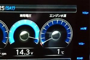 エンジン水温