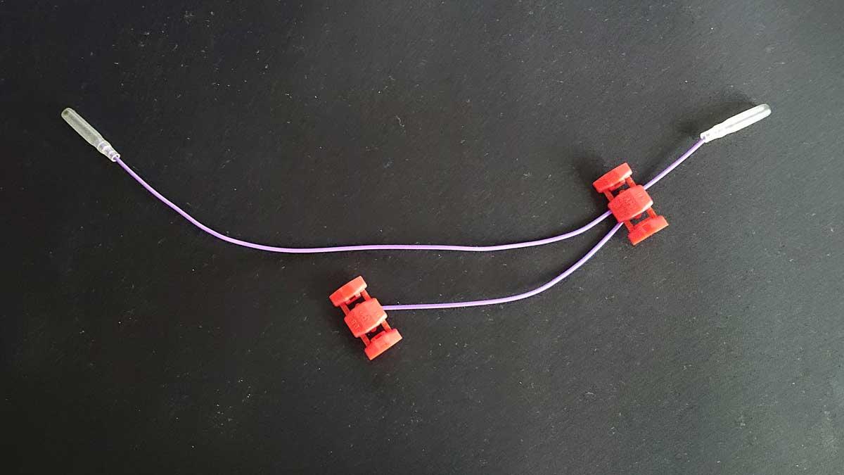 配線コネクターを利用する