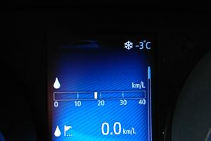 外気温-3℃