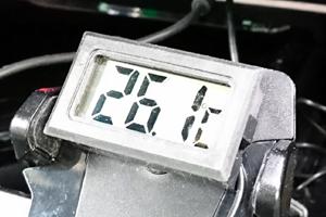 車室内26.1℃(誤差あり)