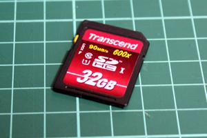 32GB SDHCカード