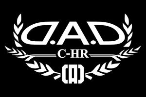D.A.D (GARSON/ギャルソン) AUTO MODELステッカー C-HR