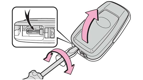 電子キーの電池交換