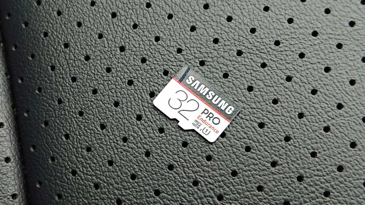Samsung ドライブレコーダー向け microSDカード32GB