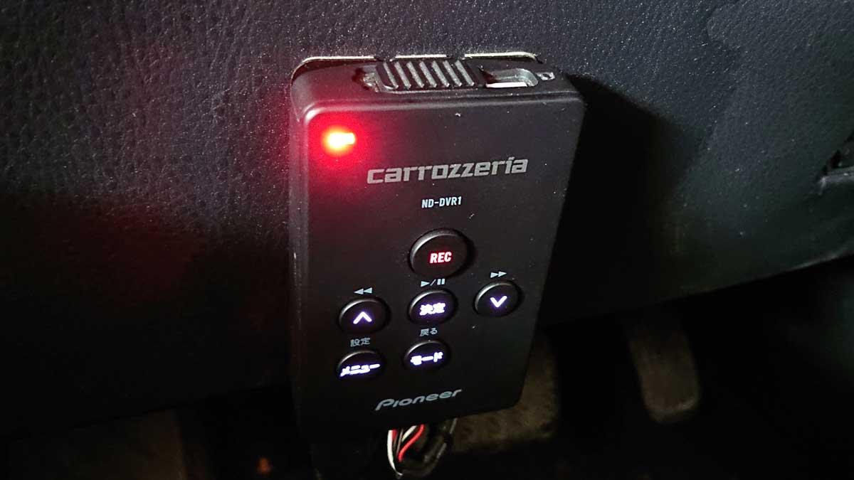 高耐久microSDカードはND-DVR1で問題なく認識