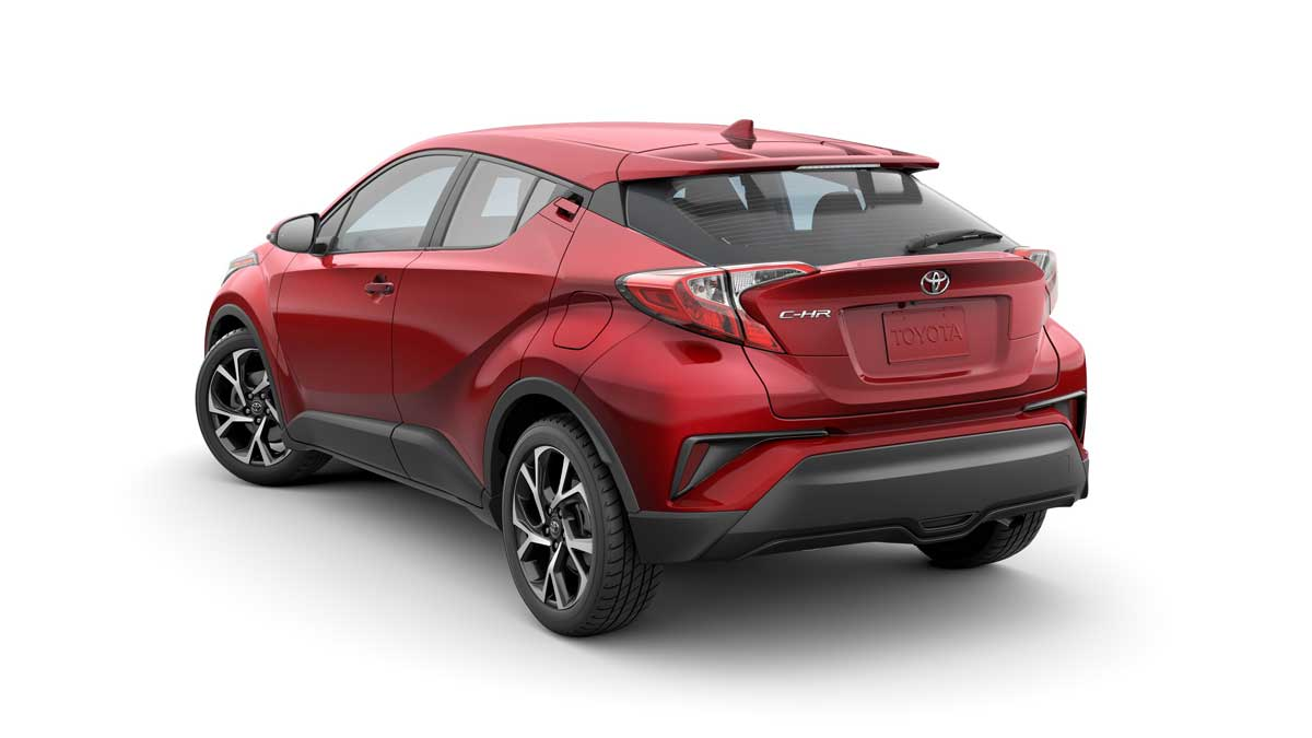 TOYOTA USA NEW C-HR