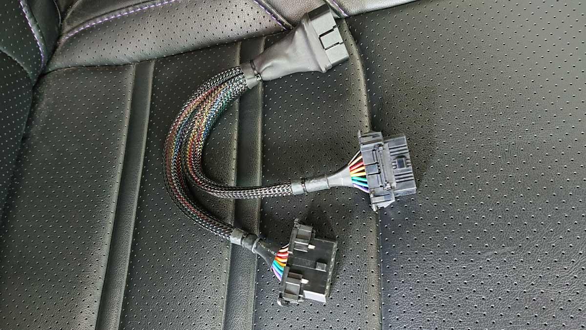 OBD2分岐ケーブル トヨタ専用