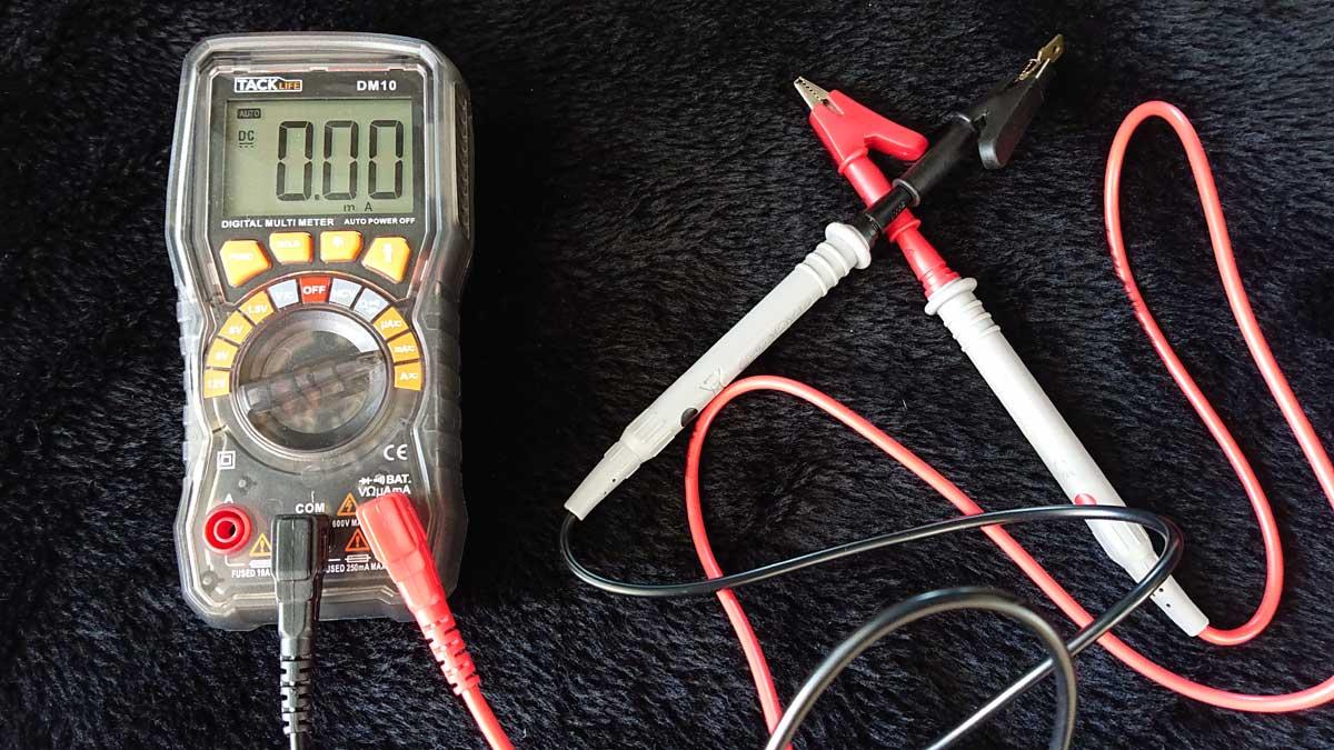 出力電流を計測