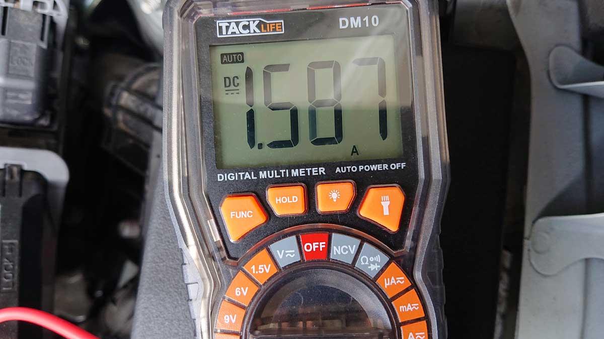 暗電流1.5A