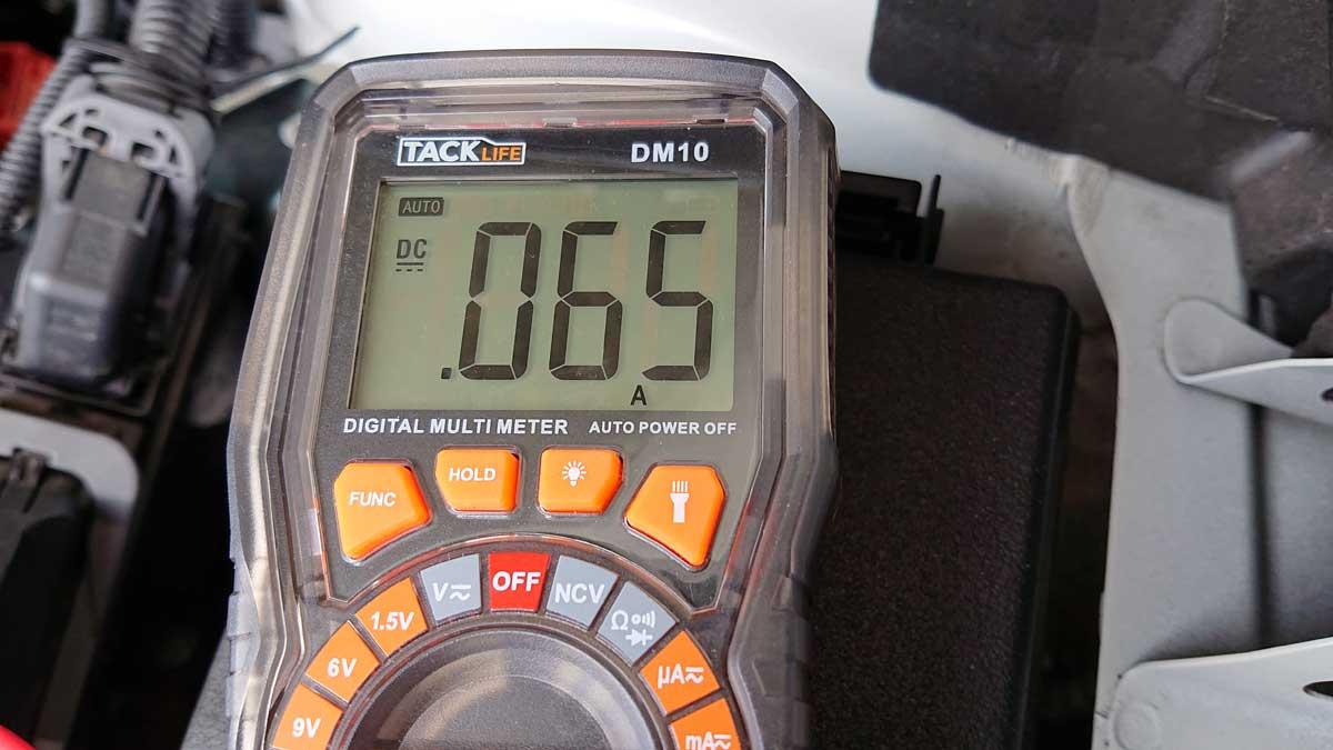 暗電流0.065A
